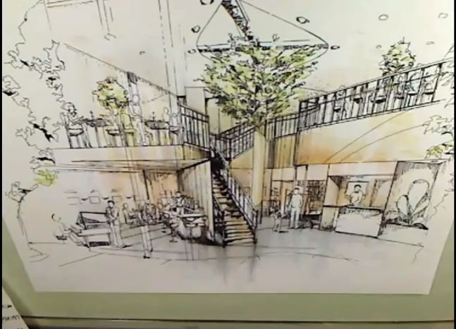 How to draw Conceptual Interior Perspective Rendering with Markers