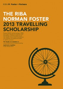 The 2013 Norman Foster Travelling Scholarship has launched and is inviting applications