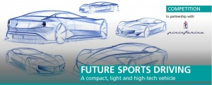 Future Sports Driving Competition, A compact, light and high-tech vehicle