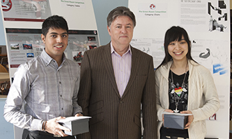 Product Design students named Vauxhall Young Designers of the Year 2012
