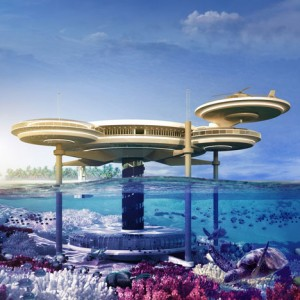 The world's largest underwater hotel is being planned for Dubai