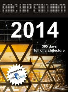 Archipendium 2014, a book with great examples of modern architecture from all around the world