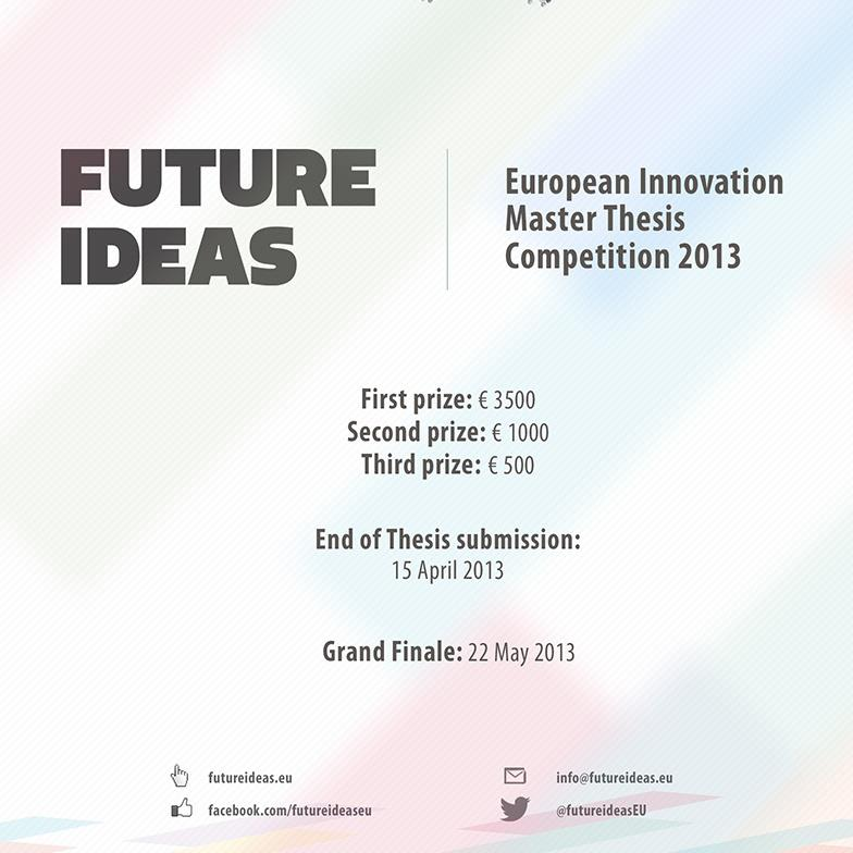 Future Ideas European Innovation Master Thesis Competition