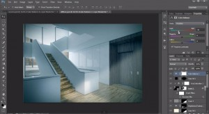 Interior Design Post Production Tutorial | Photoshop Architectural Tutorials