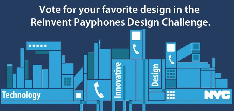 The Finalists of New York's Telephone Booth Redesign Competition