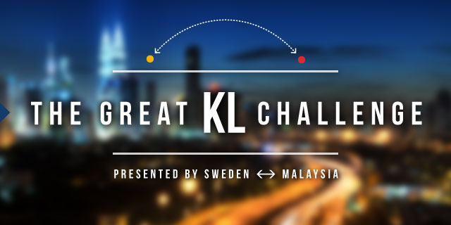 The Great KL Challenge, Show your skills and share your solution for a great KL