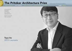 Toyo Ito of Japan is the 2013 Pritzker Architecture Prize Laureate