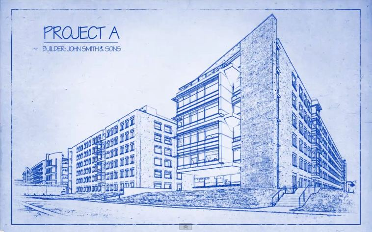 Transform a Photo into an Architect's BLUEPRINT Drawing | Photoshop Architectural Tutorials