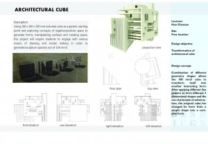 Architectural Cube Transformation