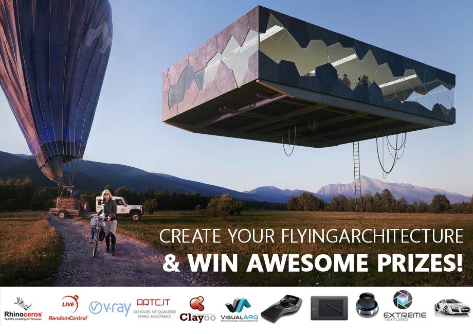 Create your FlyingArchitecture and win awesome prizes!