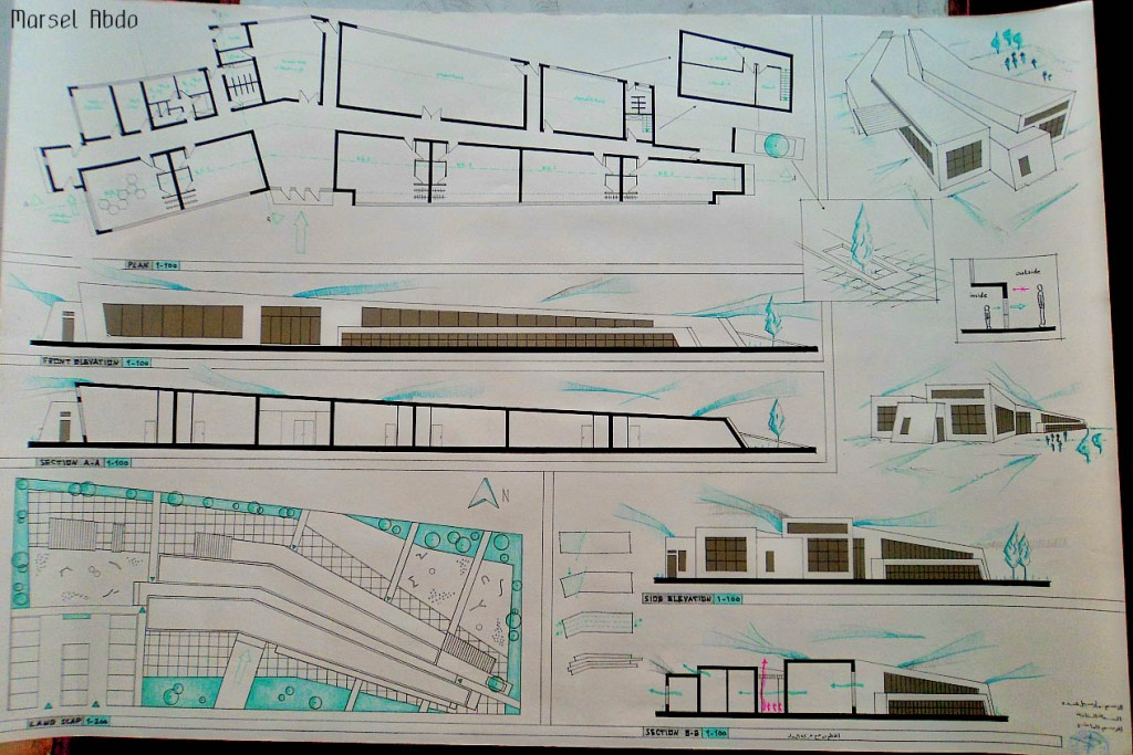 Kindergarten Project architecture student project concept design