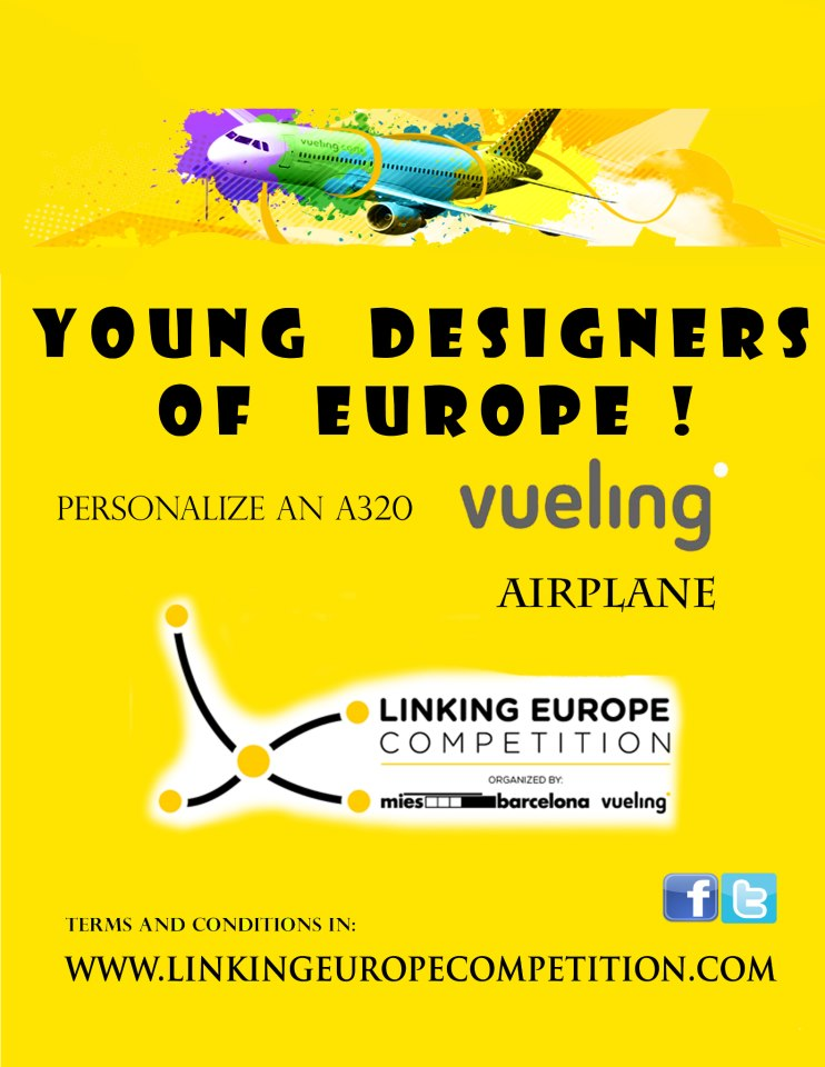 Linking Europe Competition for Students - Personalize an A320 Vueling airplane