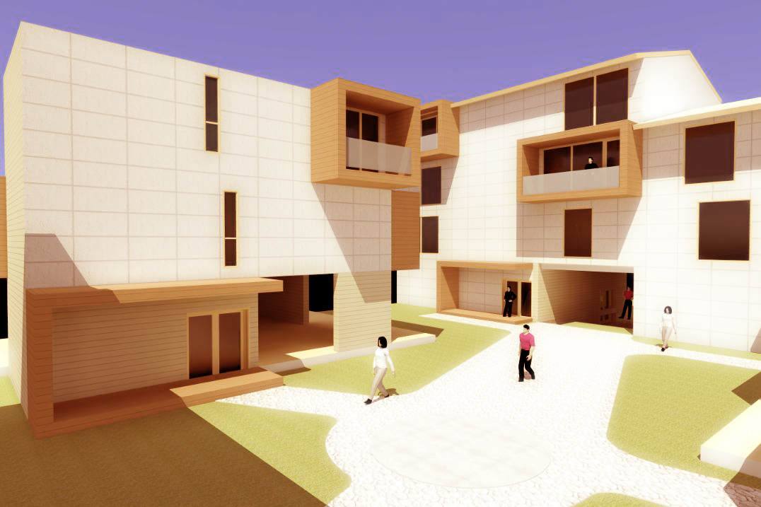 Modern Collective Housing design concept architecture