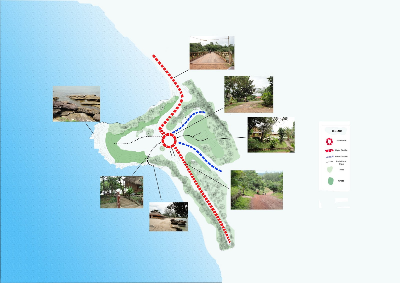 Site Analysis at Kompongsom Master plan