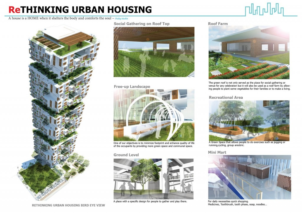 ReThinking Urban Housing ( Archiprix S.E.A 2012)