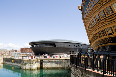 Mary Rose Museum by Wilkinson EyreArchitects