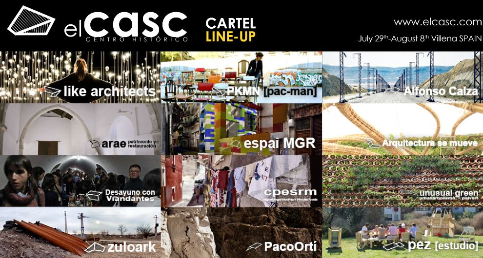 elCASC – 1 FESTIVAL // 200 PARTICIPANTS // 10 DAYS // SUMMER // SPAIN
