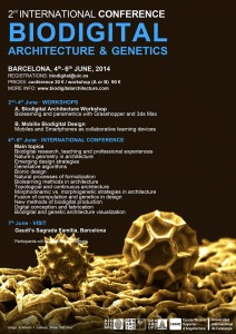 Biodigital Architecture Master Official Master`s Degree and P.h.D. Barcelona, 2014