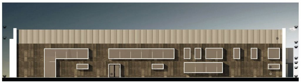 Metal Warehouse Conversion metal hall architecture design concept