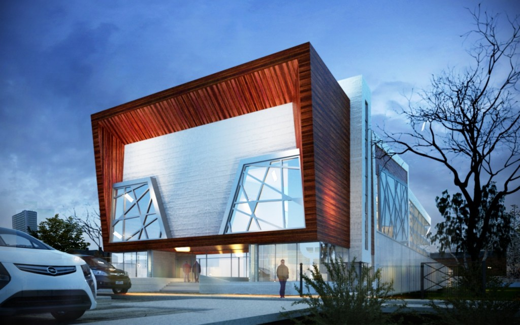 Modeled with Revit Architecture Rendered with 3Ds max and Vray