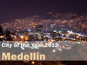City of the Year 2012 – Medellin, WSJ's Most Innovative City in the World