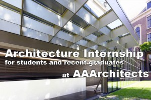 Architecture Internship for students and recent graduates at AAArchitects
