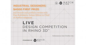 Hatch Live is a competition for product designers to showcase their talent