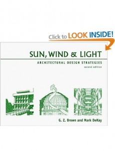 Sun, Wind & Light: Architectural Design Strategies, 2nd Edition Book