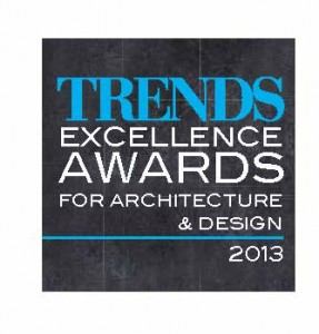 Call for Entry:Trends Excellence Awards for Architecture and Design 2013