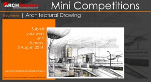 ARCH-student Architectural Mini Competitions
