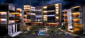 Architectural Rendering-Night Scene | Photoshop Architectural Tutorials