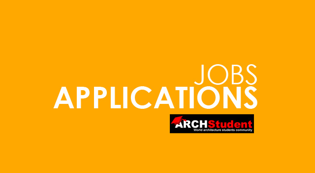 Jobs in architecture | APPLICATIONS