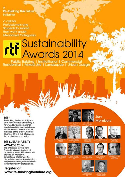 Rethinking The Future Sustainability Awards 2014