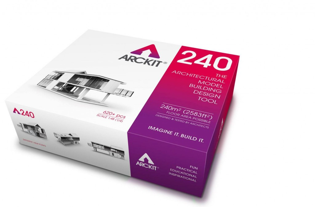 Arckit – The architectural model system that lets you design, build and modify.
