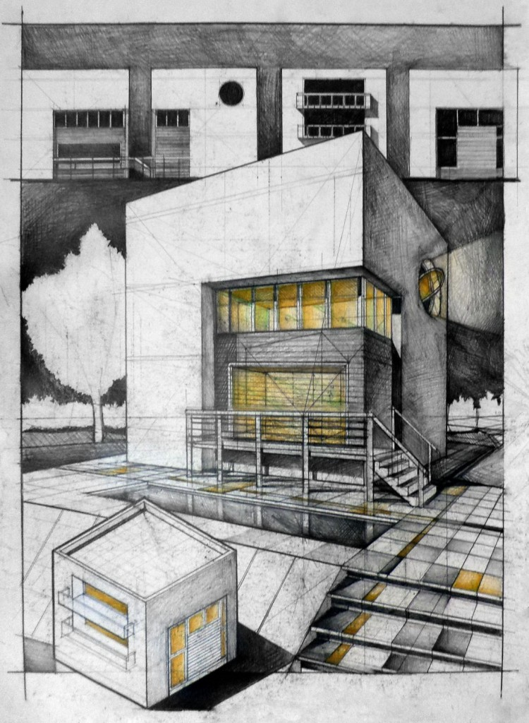 Student House Architectural drawing