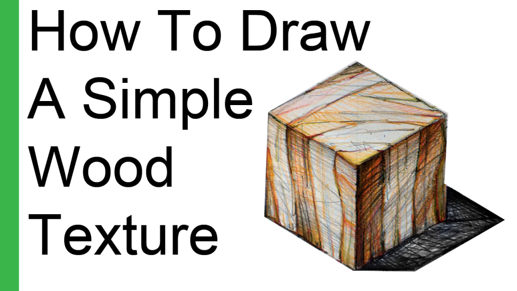 How To Draw A Simple Wood Texture