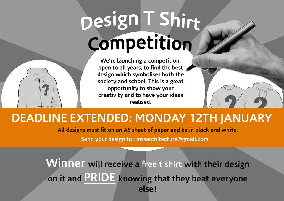 T-shirt design competition 2015