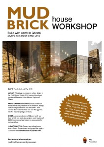 MUD BRICK HOUSE WORKSHOP: Build with Earth in Ghana