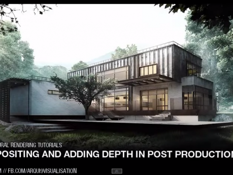 Atmospheric Depth and Compositing in Architectural Visualisation