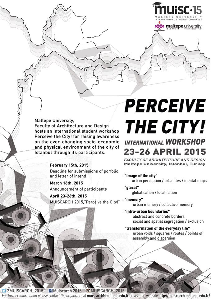 Faculty of Architecture and Design Maltepe hosts an international student workshop – Perce ...