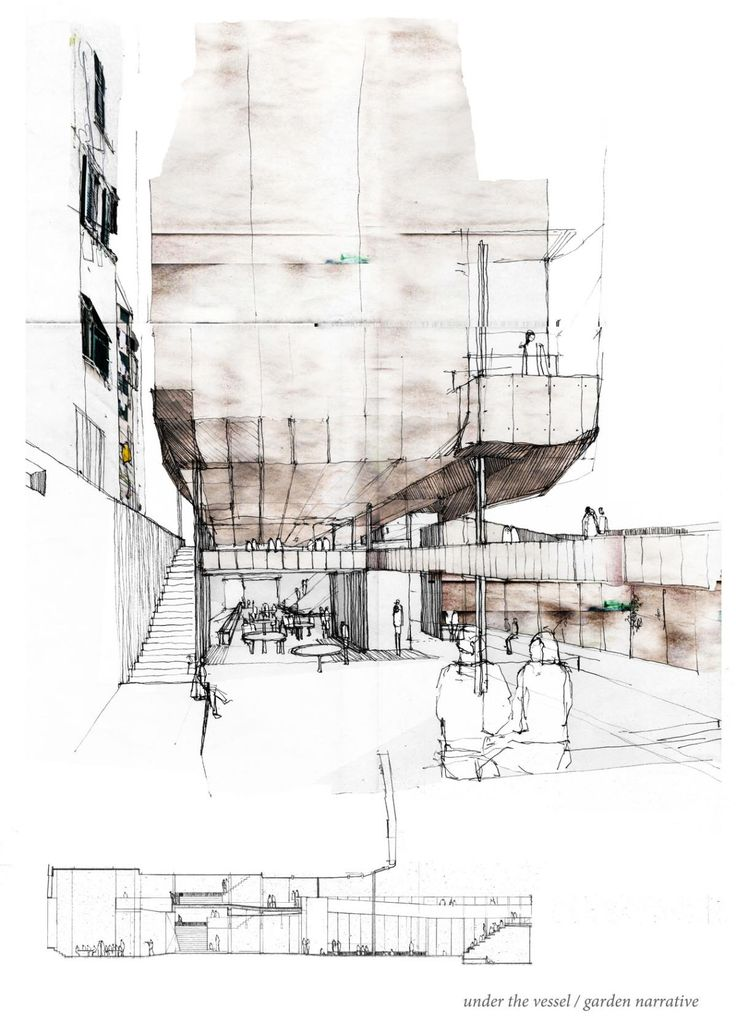 Architecture sketch arch for Architecture student