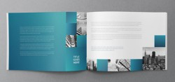 Architecture Squares Brochure Design