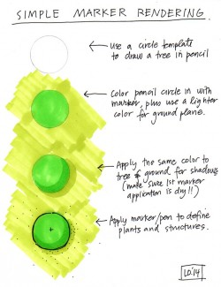 Quick Tips for Rendering a Plant Symbol in Marker
