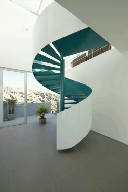 Beautiful Spiral Stair Design