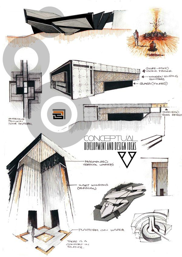 conceptual development and conceptual ideas Maquette architecture