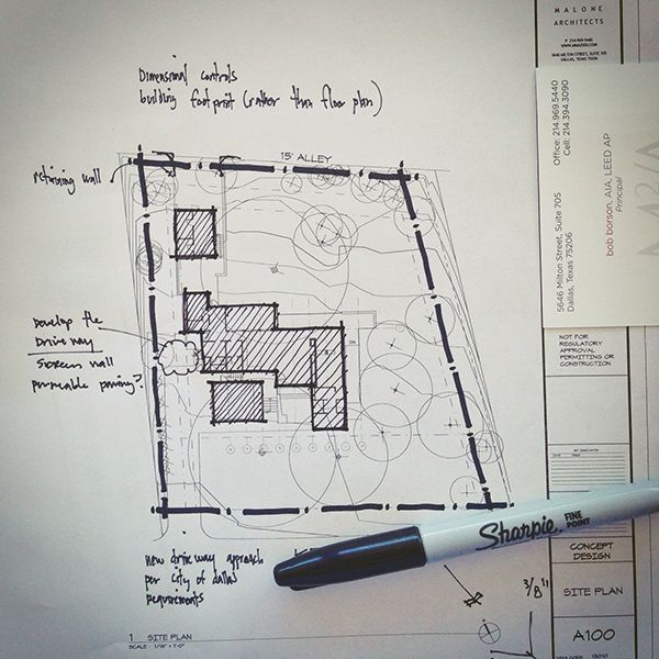 Architectural sketch site plan line weight arch for Site plan design software