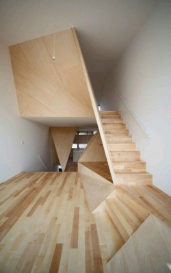 Beautiful Wood Stair Design