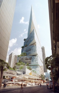 Design 200-Meter Tower in Sydney
