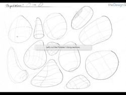 How to sketch faster drawing with Contour lines – Design sketching for beginners