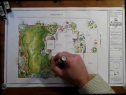 Landscape Design Color Rendering